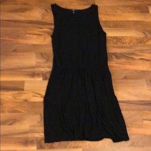 Gap V neck cotton dress